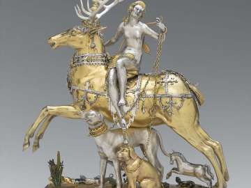 Diana and Stag Automaton