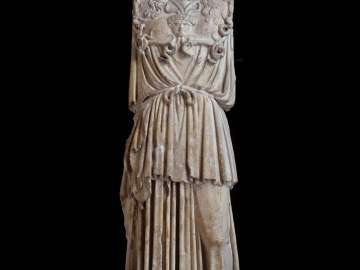 Statue of Athena Parthenos (the Virgin Goddess)