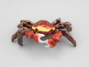 Paperweight (crab)