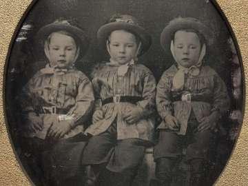 Triplets: Charles, Eleazer, and Millard Ring
