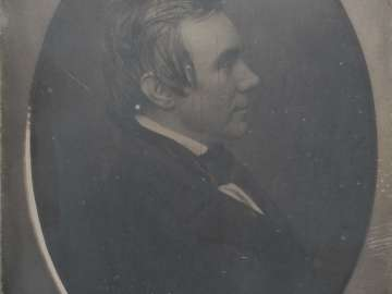 Man Facing Right, Profile