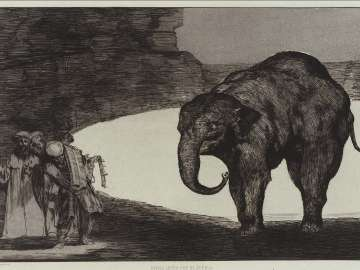 Disparate de Bestia (Animal Folly); plate from the