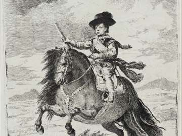 Balthasar Carlos, Prince of Spain, on Horseback