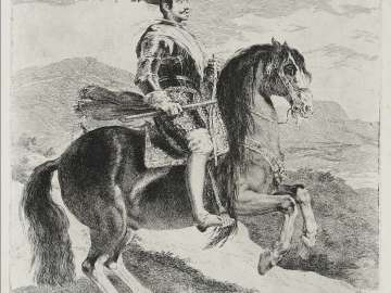 Felipe IV, King of Spain, on Horseback