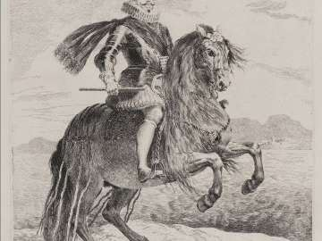 Felipe III, King of Spain, on Horseback