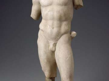 Torso of a young god or athlete