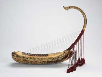 Arched harp (saùng-gauk)