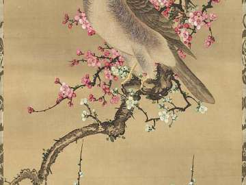 Hawk and Plum Blossoms