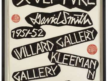 Willard Gallery and Kleeman Gallery Poster