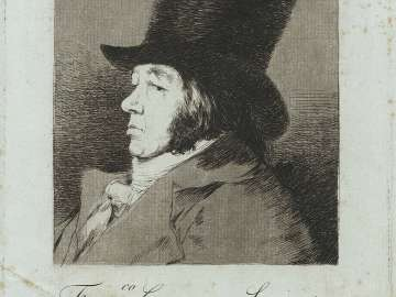 Fran.co Goya y Lucientes, Pintor (Frontispiece, pl. 1, bound into