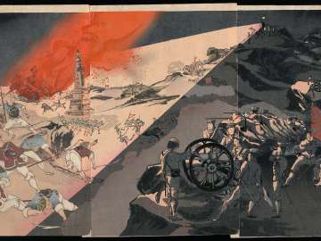 Our Army's Great Victory at the Night Battle of Pyongyang (Heijô yasen wagahei daishôri)