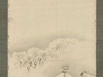 Kinkaku-ji in Snow