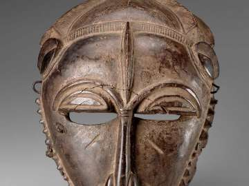 Imitation of a Baule Face Mask