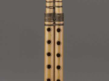 Double clarinet (zummara)