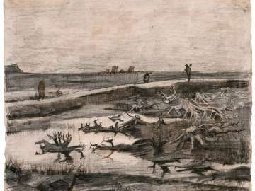 Landscape with Bog Trunks (Travaux aux Champs)