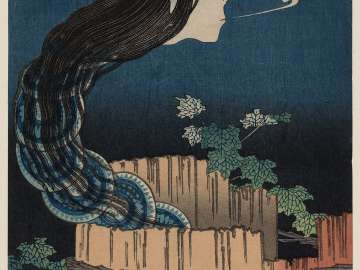 The Mansion of the Plates (Sara yashiki), from the series One Hundred Ghost Stories (Hyaku monogatari)