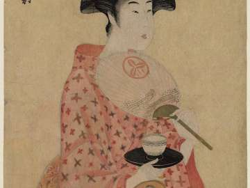 Takashima Ohisa, from the series A Fashionable Triptych (Fûryû sanpuku tsui)