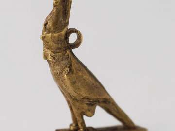 Amulet of Horus as a falcon