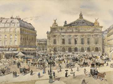 Place de l'Opéra, Paris