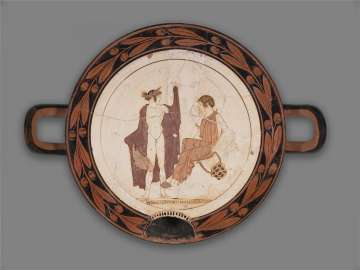 Covered drinking cup (kylix)