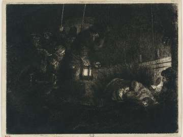 The Adoration of the Shepherds: A Night Piece
