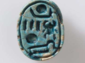 Scarab with prenomen of Horemheb