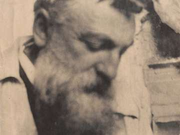 Head of Auguste Rodin