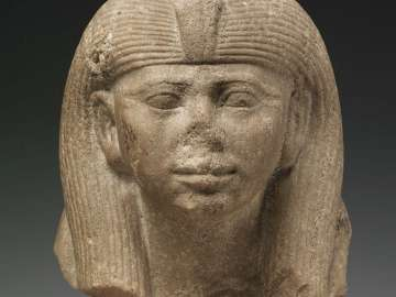 Head of a queen, from a sphinx