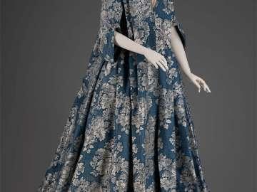 Dress and petticoat
