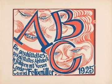 ABC—Ein geschütteltes, geknütteltes Alphabet in Bildern mit Versen