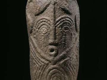 Carved stone (atal or akwanshi)