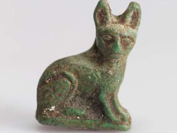 Amulet of a cat
