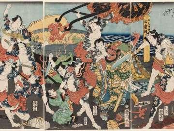 Shuihuzhuan Heroes in Hell (Suikoden jigoku meguri)