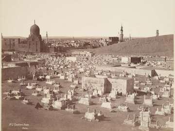 Arab cemetery, Cairo