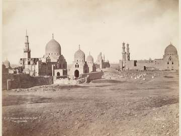 Tombs of the Caliphs at Cairo, General View