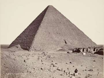 Great pyramid of Khufu at Giza