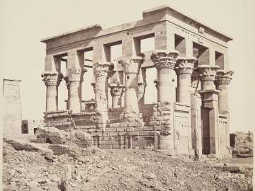 Island of Philae, hypaethral temple