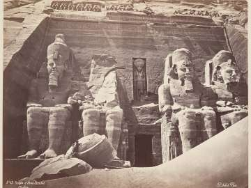 Temple of Abu Simbel, Nubia