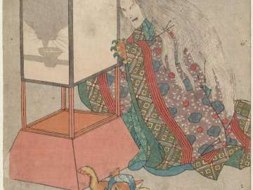 Tôkaidô gojûsan tsugi no uchi, Okazaki