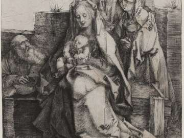 Holy Family with Saint John, The Magdalen, and Nicodemus