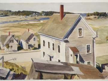 House by 'Squam River, Gloucester (Cape Ann, Massachusetts)