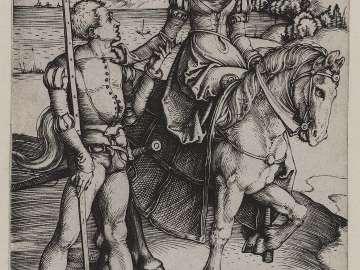 Lady on Horseback and Lansquenet