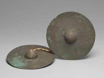 Pair of cymbals (chap yai)
