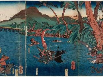 The Great Battle at the Uji River (Ujikawa ôgassen)