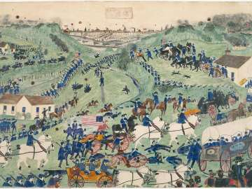 Grant's First Attack at Vicksburg