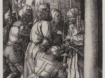 Christ before Pilate for the First Time (Engraved Passion)