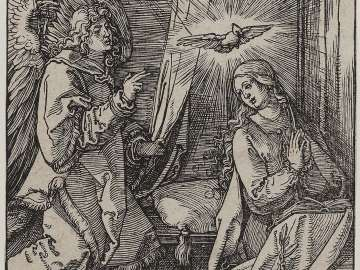 Annunciation (Small Passion)