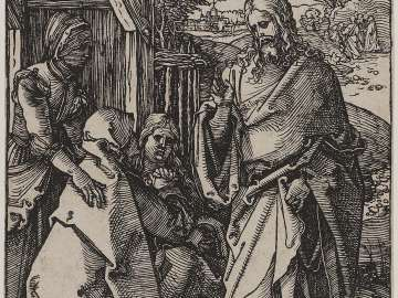 Christ Taking Leave from his Mother (Small Passion)