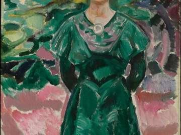 Ingeborg Kaurin (later Ingeborg Onsager)