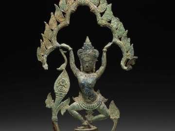 Dancing celestial figure (apsara)